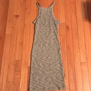 Dresses & Skirts - Grey ribbed bodycon dress